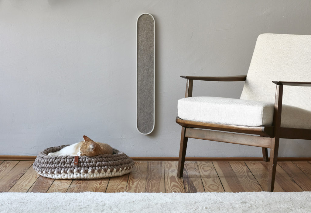 modern wall mounted cat scratcher