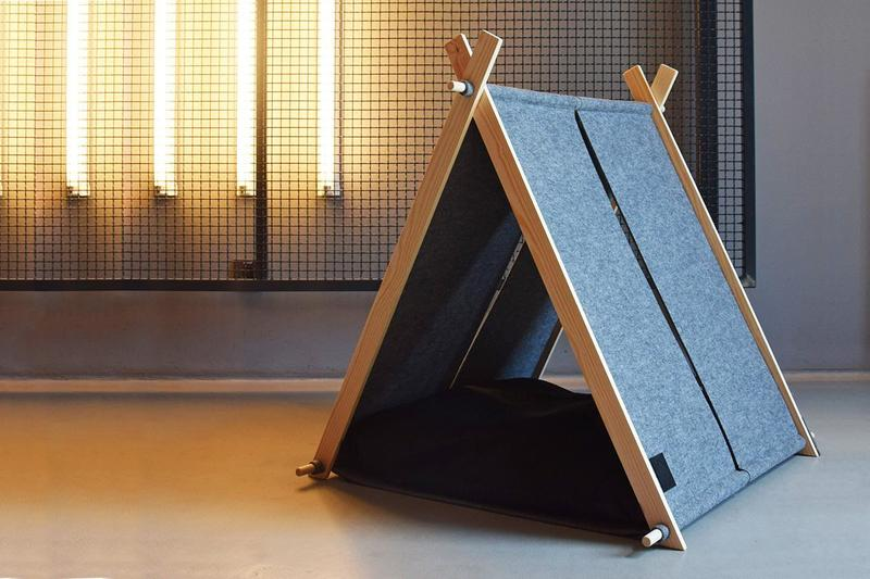 This Minimalist Cat Tent Will Satisfy Both Your and Your Cat's Needs