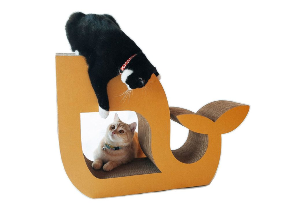 stop your cat scratching furniture with this scratcher from kafbo