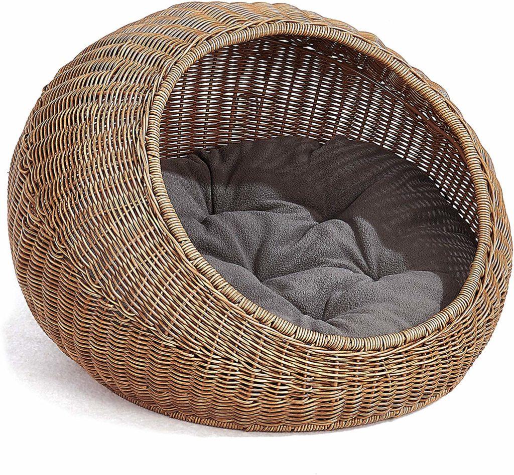 wicker cat cave cat bed cat cocoon